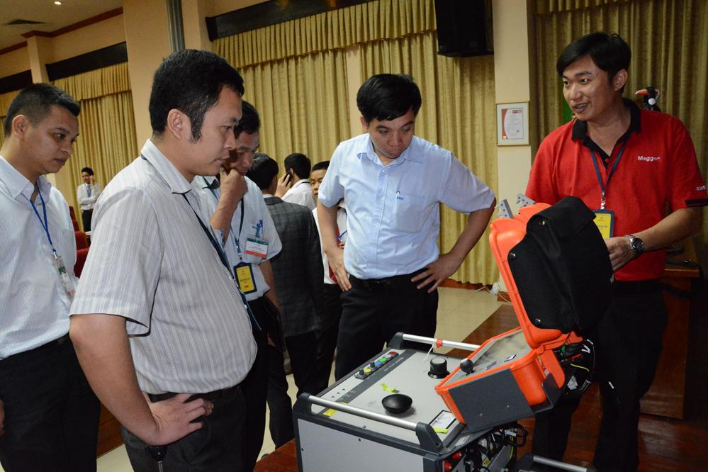 Hội thảo: Giới thiệu thiết bị định vị lỗi cáp ngầm